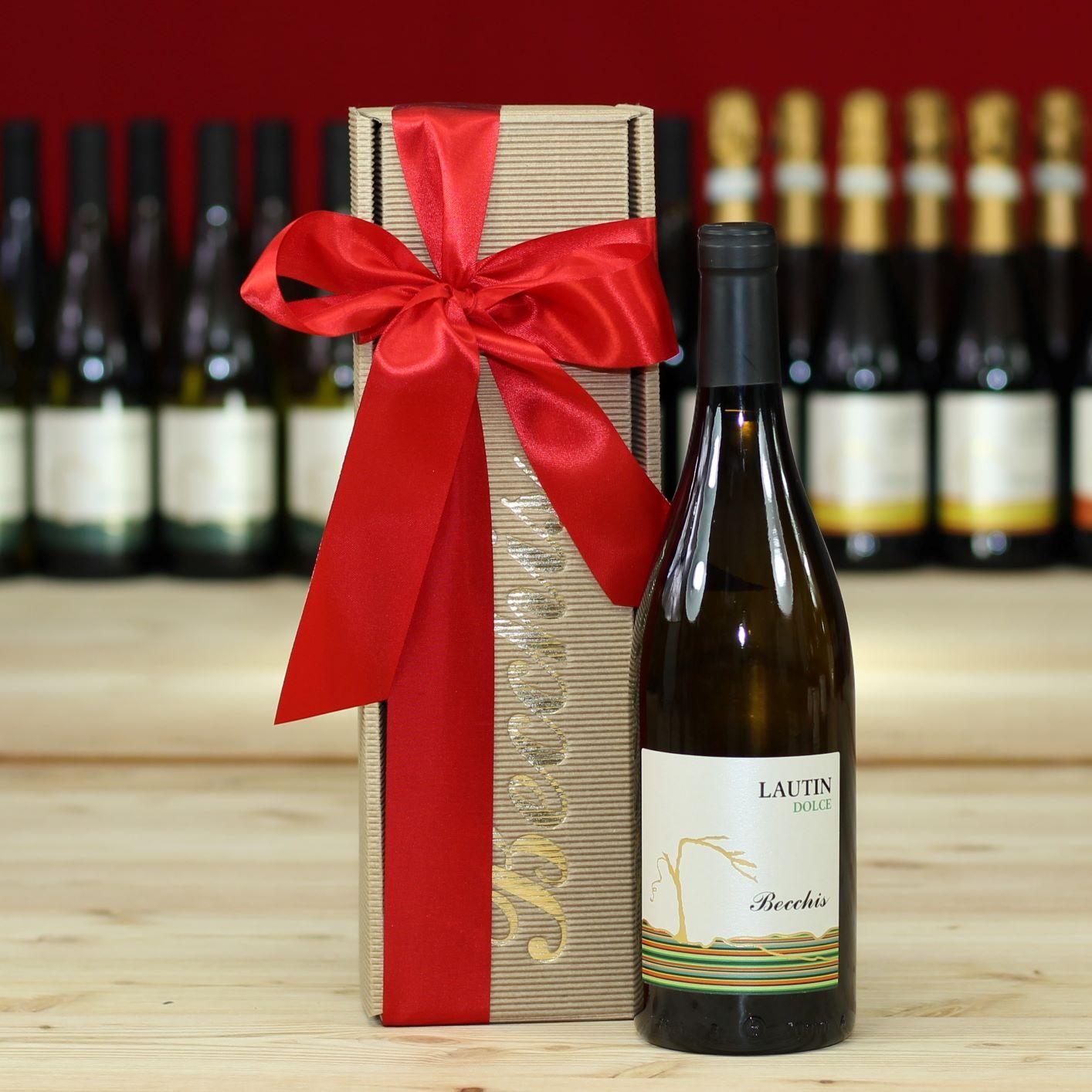 Cartone 10 confezioni da 1 bottiglia confezione regalo per bottiglia bordeaux Confezione Dekowell Classic per vino 1 er