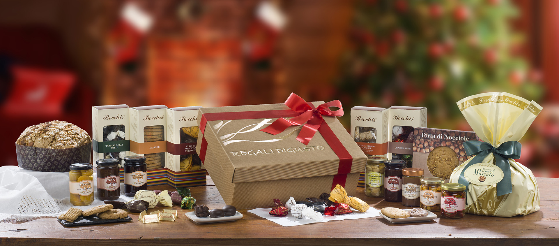 Cesti natalizi aziendali con prodotti artigianali di alta qualità