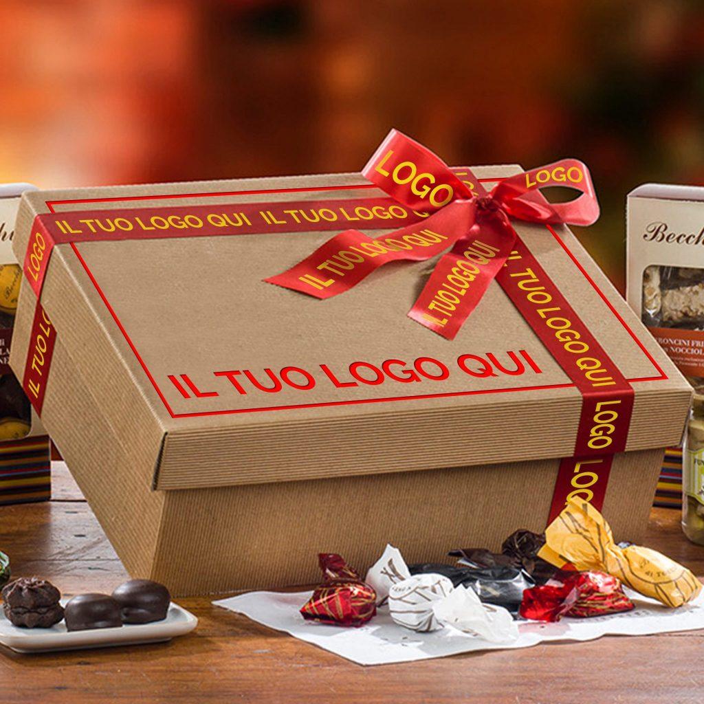 cesti natalizi aziendali personalizzati