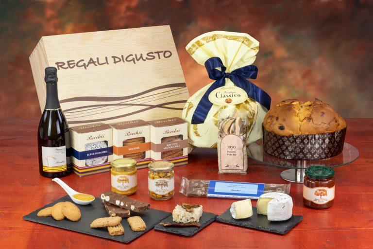 confezione natalizia bauletto 7805