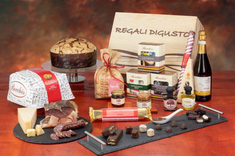 confezione natalizia bauletto 7810