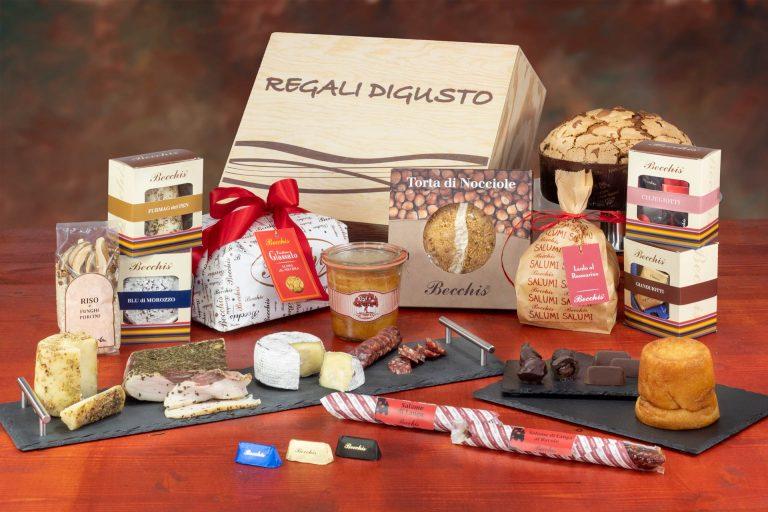confezione natalizia bauletto 7825