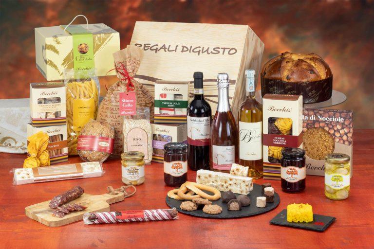 confezione natalizia bauletto 7845