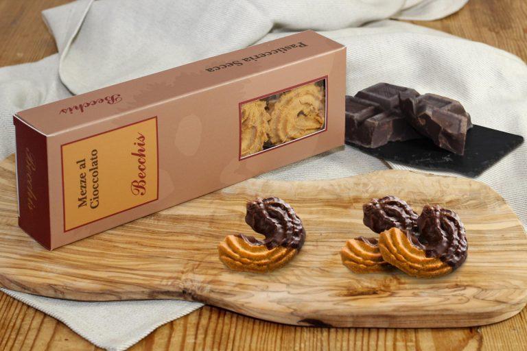 Mezze al cioccolato