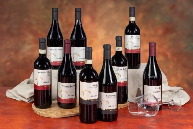 confezioni 3 bottiglie vini bianchi, rossi, spumanti